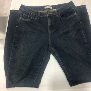 Coldwater Creek Blue Jeans Size 28 Straight Leg